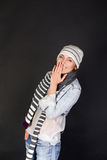 Frau lächelt Lizenzfreie Stockfotos