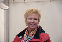 Frau LIZETTE RISGAARD_DANISH LOS PRÄSIDENT stockbild