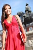 Frau in Madrid Lizenzfreies Stockbild