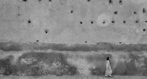 Frau in Marrakesch Stockfoto