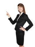 Frau mit dem gekreuzten Armlächeln Lizenzfreie Stockfotos