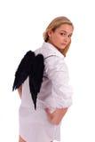 Frau mit Flügeln Stockbilder