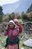 Frau mit ihrem Kind Lizenzfreie Stockfotos