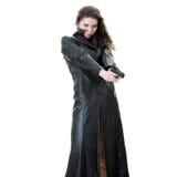 Frau mit Pistole lizenzfreies stockfoto