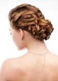 Frau mit schöner Frisur Stockbilder