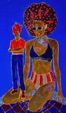 Frau mit toyboy Stockbilder