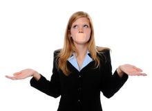 Frau mit Verband über Mund lizenzfreie stockfotos