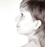 Frau `s Gesicht Lizenzfreies Stockfoto