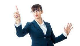 Frau, Studioschuß Lizenzfreie Stockfotografie