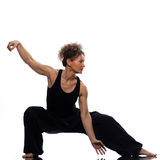 Frau tai-Chi stockfotos