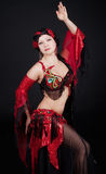 Frau tanzt Lizenzfreie Stockfotos