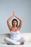 Frau u. Meditation Lizenzfreies Stockbild