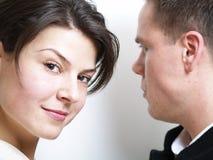 Frau und Ehemann stockfotografie