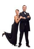Frau und Geheimagent Stockfoto