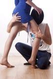 Frau und Mann Stockbild
