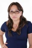 Frau verärgert stockfotos