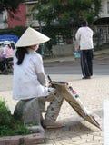 Frau Vietnam Lizenzfreie Stockfotos