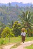 Frau von Bali Stockfoto