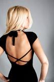 Frau von der Rückseite Stockfotos