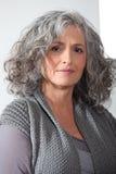 Frau von mittlerem Alter lizenzfreie stockfotos