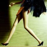 Frau weg laufen lassen Lizenzfreie Stockfotografie