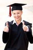 Frauabsolvent Stockfoto