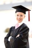 Frauabsolvent Lizenzfreies Stockbild