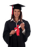 Frauabsolvent Lizenzfreie Stockfotografie