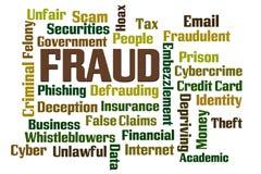 fraud ilustração royalty free