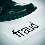 fraud Foto de Stock Royalty Free