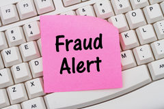 Fraud Alert Stock Photography