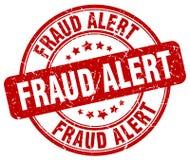 Fraud alert red grunge round vintage stamp. Fraud alert red grunge round vintage rubber stamp stock illustration
