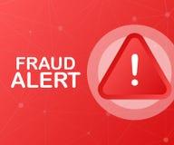 Fraud alert. Security Audit, Virus Scanning, Cleaning, Eliminating Malware, Ransomware. Vector illustration. stock illustration