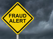 Fraud Alert royalty free stock photo