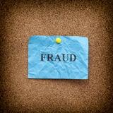 Fraud concept Royalty Free Stock Photo