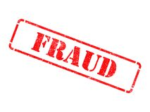 Free Fraud - Inscription On Red Rubber Stamp. Stock Photography - 37583812