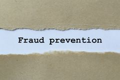 Fraud prevention royalty free stock image