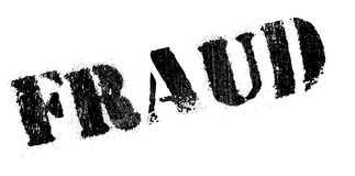Fraud rubber stamp Royalty Free Stock Image