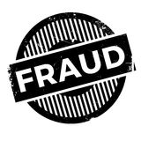 Fraud rubber stamp. Grunge design with dust scratches. Effects can be easily removed for a clean, crisp look. Color is easily changed vector illustration