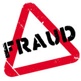 Fraud rubber stamp Stock Image