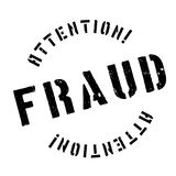 Fraud rubber stamp Royalty Free Stock Photo