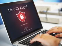 Fraud Scam Phishing Caution Deception Concept Stock Images