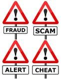 Fraude ilustração royalty free