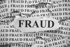 fraude Royalty-vrije Stock Afbeelding