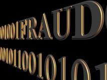 Fraude del Web Fotografía de archivo libre de regalías