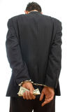 Fraude do negócio Fotografia de Stock Royalty Free