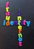 Fraude en el Internet. Fotos de archivo libres de regalías