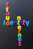 Fraude no Internet. Fotos de Stock Royalty Free