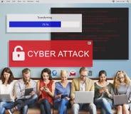 Fraude que corta o conceito de Scam Phising do Spam Imagens de Stock Royalty Free