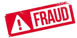 Fraude rubberzegel royalty-vrije illustratie
